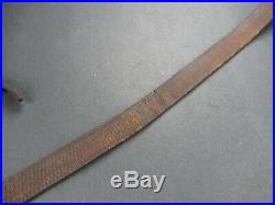 1940 Super Nice WWII German Mauser rifle leather sling for K98 G43 & G41 Mp's