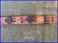1943 MILSCO WWII US Army rifle sling M1 Garand 1903 Springfield leather complete