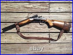 1 1/2 Leather Rossi 92 Gun Sling NO DRILL SLING for The Rossi 92 Rifle Only