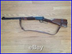 1 1/4Wide NO DRILL Rifle Sling For Winchester Rifles. Brown Leather