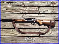 1 1/4 Leather Rossi 92 Gun Sling NO DRILL SLING for The Rossi 92 Rifle Only
