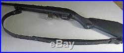 1 Handmade Gwnuine Leather Rifle Sling RUGER Black
