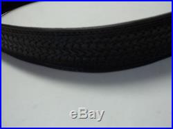245 Black Rifle Sling With Arrowhead Pattern Made By Bluehorn Custom Leather