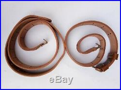 5x (pack Of Five)wwii Us M1 Garand Rifle M1907 Leather Carry Sling Copper