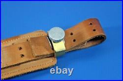 Al Freeland Short Sling Leather No Cuff Rock Island ILL