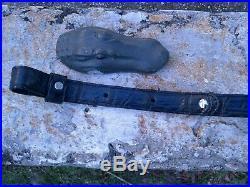 American Wild Alligator Rifle shotgun Shoulder Sling Strap gator leather DC1