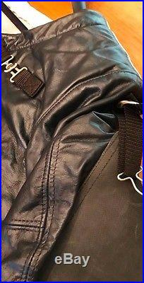 Anschutz Leather Shooting Coat & Mat & Sling. Coat Meets NRA H. Power S. Bore Rifle