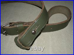 Argentine Model 1891 Mauser Carbine / Rifle Green Leather Sling MINTY MUST READ