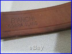 BIANCHI Cobra Sling Leather Must See. Looks unused. Excellent