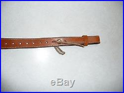 BIANCHI Leather Cobra Grande Rifle Sling- Basketweave