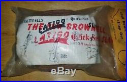 BROWNELLS QUICK-SET LATIGO LEATHER RIFLE SLING Brown 1 inch NEW OLD STOCK