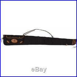BROWNING LONA CANVAS GUN CASE 52 BLACK/BROWN TRIM WithSLING