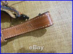 Bianchi 74 cobra grande floral tooled leather sling swivels thumbhole