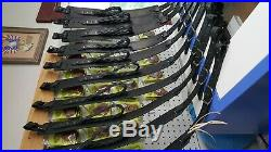 Black Latigo Leather Rifle Slings