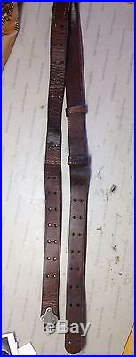 Boyt 1944 WW2 M1 Garand Leather Rifle Sling ORIGINAL