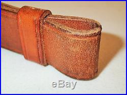 Boyt 44 Leather Sling, Original WWII issue for the M1 Garand rifle-Excellent