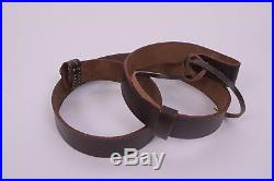 British WWI & WWII Lee Enfield SMLE Leather Rifle Sling X 5 Units