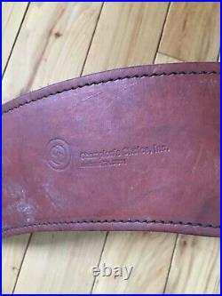Champion's Choice, Inc. Brown Leather Rifle Elbow Cuff With Sling-euc-padded