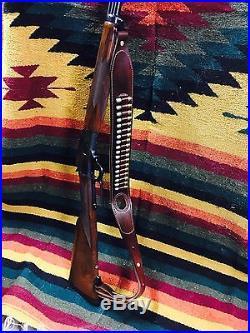 Custom leather Bandoleer style ammo sling Made int he good ole USA