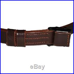 GERMAN MAUSER K98 WWII RIFLE LEATHER SLING (LOT of 10)