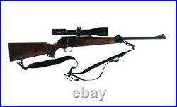 Galco MAN-B Ambidextrous Black 2 Rifleman 2 Point Sling (Fits 1 Swivels)