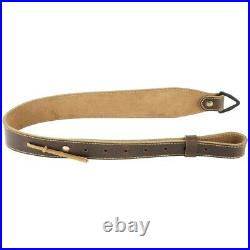 Galco RS9C Cordovan Brown Leather Tapered Rifle Sling