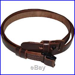 German Mauser K98 WWII Rifle Leather Sling x 10 UNITS LO49176