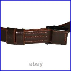German Mauser K98 WWII Rifle Leather Sling x 10 UNITS Lv286