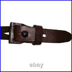 German Mauser K98 WWII Rifle Leather Sling x 10 UNITS Q395