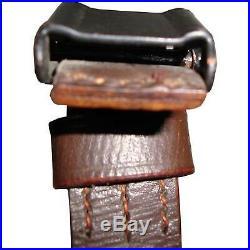 German Mauser K98 WWII Rifle Leather Sling x 10 UNITS uj245