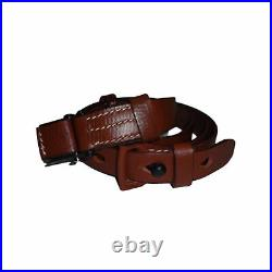German Mauser K98 WWII Rifle Mid Brown Leather Sling x 10 UNITS Z182