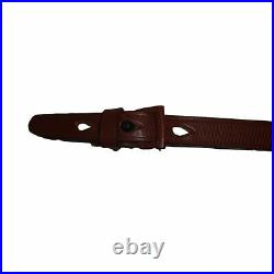 German Mauser K98 WWII Rifle Mid Brown Leather Sling x 10 UNITS n823