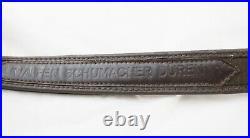 German Vintage Hunting Lined Leather Felt Sling Luxury Duren