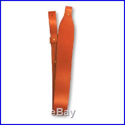 Grizzly Heavy Weight Leather Cobra Rifle Sling Tan 2291S-03