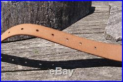 Gun Stock Cover Leather Rifle Sling Custom Leather Rifle Sling No Wait
