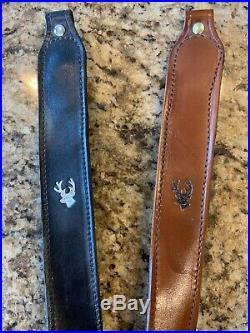 Handmade Leather Thumb Hole Rifle Sling