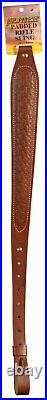 Hunter Company 027149 Cobra 1 Swivel Padded Leather Brown With Basket Weave