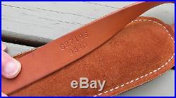 Hunter Leather Rifle Sling Tan 627196 9540 Hunter Company Embossed Padded Sling