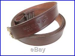 Indian War Leather Sling for 1873 Trapdoor & 1898 Krag-Jorgensen Rifle RIA Repro
