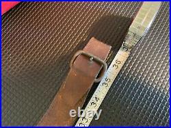 Indian post Civil War Carbine Rifle Sling Leather Henry Springfield Orig