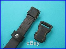 Late war 98k WWII German Mauser rifle leather sling for K 98 K98 G43