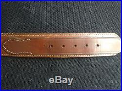 Leather Gun Set Galco Cartridge Belt G WM Davis Holster Ruger Rifle Sling