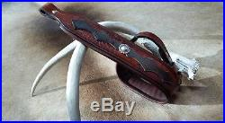 Leather Rifle Sling, Handcrafted in the USA, Brown Cow / American Bison, Bayou