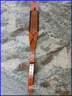 Leather Rifle Sling With 1 Straps