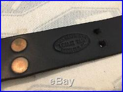 Leslie Tam Custom Made Leather Rifle Sling. Camp Perry, Match. Springfield 1903