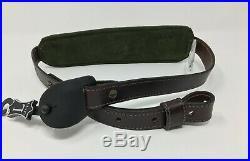 Levy's Leather TRACKER SERIES Brown EMBOSSED DEER Padded Rifle Gun Sling #SN76D