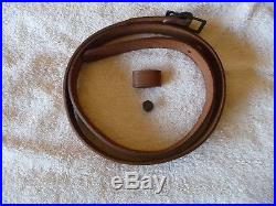 Marlin Factory Leather Sling withHorse & Rider & Original Factory Instructions NOS