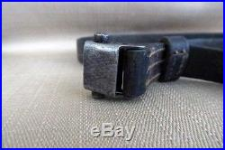 Mauser K98 Rifle Sling WW2 Original 8mm 98k Leather Strap German WWII G33 G43