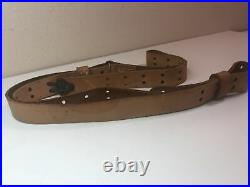 Military Issue MRT 12-86 Leather Rifle Sling