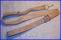 Military Surplus AK-SKS Leather Rifle Sling
